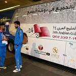 kuwait National Team arrives to hamad airport 24-11852
