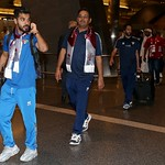 kuwait National Team arrives to hamad airport 24-11810