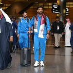 kuwait National Team arrives to hamad airport 24-11801