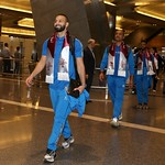 kuwait National Team arrives to hamad airport 24-11799