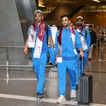 kuwait National Team arrives to hamad airport 24-11797