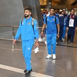 kuwait National Team arrives to hamad airport 24-11796