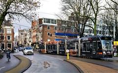 Aan de andere kant... (Peter ( phonepics only) Eijkman) Tags: amsterdam city combino colorbino gvb tram transport trams tramtracks trolley rail rails strassenbahn streetcars nederland netherlands nederlandse noordholland holland