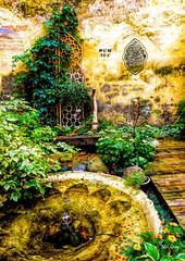 Treasure-garden_P1020188 (Mel Gray) Tags: riga latvia travel cafe garden