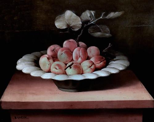 IMG_3187CA Lubin Baugin 1612-1663  Paris Coupe de fruits Fruit bowl   ca 1630  Rennes Musée des Beaux Arts