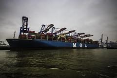 Hamburg0198 (schulzharri) Tags: hamburg hh hafen harbor haven deutschland germany europa europe schiff frachter vessel ship boat wasser water
