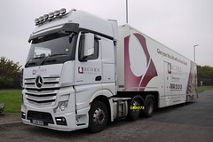Photo of Mercedes Actros 2545 - Thurrock