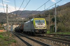 494 504 Captrain (Maurizio Boi) Tags: treno train zug rail railway railroad ferrovia eisenbahn locomotiva locomotive italy e494 494 captrain captrainitalia cargo