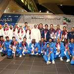 kuwait National Team arrives to hamad airport 24-11902