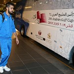 kuwait National Team arrives to hamad airport 24-11865