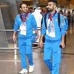 kuwait National Team arrives to hamad airport 24-11793