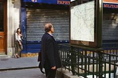 (Eric Jan Zen) Tags: paris street kodak ultramax push nikon 50mm