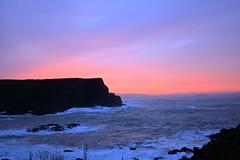 Magic Hour (sumi!) Tags: northernireland giantscauseway magichour sunset ocean water