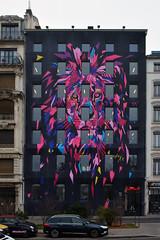 Lyon (MichelC+) Tags: lyon streetart fresques