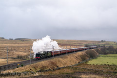 Scot at the top (MJREphotography) Tags: 46115 wcrc santa special shap cumbria steam west coast railway company locomotive train lancaster carlisle penrith tebay