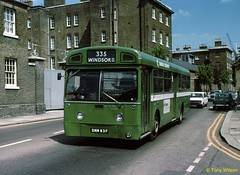Photo of SMM83F National Bus Company NBC London Country Bus Services LCBS MB83