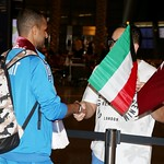 kuwait National Team arrives to hamad airport 24-11811