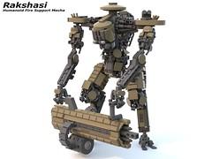 Rakshasi (kotkoozya) Tags: lego mecha military garry drywall nick garryrocks scifi moc