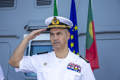 "EU NAVFOR Force Commander Commodore Vizinha Mirones • <a style=""font-size:0.8em;"" href=""http://www.flickr.com/photos/90840517@N06/49197968126/"" target=""_blank"">View on Flickr</a>"