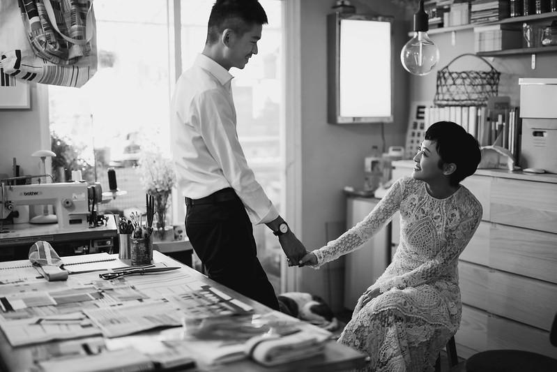 """""""棚拍婚紗,經典婚紗,黑白復古婚紗,台北婚紗工作室,居家婚紗"""""""