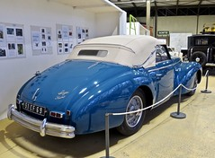 1951 TALBOT-LAGO Record T26 Cabriolet Dubos (ClassicsOnTheStreet) Tags: 51cf69 talbotlago t26 record cabrioletdubos 1951 talbot talbotlagorecord recordt26 dubos carrosseriedubos dubosfrères cabriolet cabrio convertible 6cylinder 6cilinder 50s 1950s pkw voiture classiccar classic oldtimer klassieker veteran vintage oldie classico gespot spotted carspot rochetailléesursaône lyon muséedelautomobilehenrimalartre museum musée classiccarmuseum automuseum muséedelautomobile henrimalartre ruedumusée rhône frankrijk france francia frankreich f fr 2019 classicsonthestreet spaakwielen