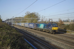 88002 Easenhall (Gridboy56) Tags: diesel drs freight wagons warwickshire railways railroad railfreight trains train uk intermodal locomotive locomotives europe england electric containers liner 88002 4m27 easenhall rugby mossend daventry dirft