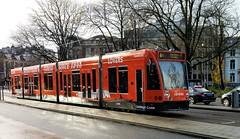 Oranje Zwart (Peter ( phonepics only) Eijkman) Tags: amsterdam city combino colorbino gvb tram transport trams tramtracks trolley rails rail strassenbahn streetcars nederland netherlands nederlandse noordholland holland