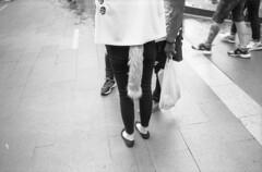 Foxy girl (A N O L O G I . M A L A Y A) Tags: carlzeiss3528f redfilter rodinal selfdeveloped keepfilmalive streetphotography street bnw leicam6 leica analogphotography analog filmisnotdead filmphotography film