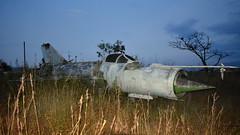 Mikoyan-Gurevich Mig.21bis Laos Air Force serial 17 (Erwin's photo's) Tags: airport aircraft aviation air laos derelict base lao airbase xieng phonsavan khouang force 17 relics serial wr wrecks dumped stored mikoyangurevich mig21bis