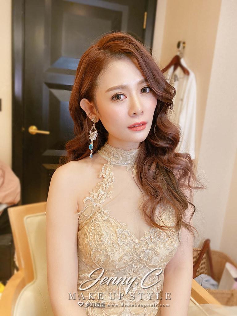 【新秘蓁妮】bride 阿娟 訂婚造型 / 仙女風,女神風