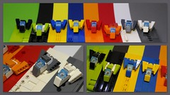 Rainbow Fighters . (peter-ray) Tags: lego peter ray micro samsung nx2000 fighter space ship microscale moc brick