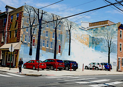 It's a Sad and Beautiful World Every Day (kirstiecat) Tags: mural art streetart painting philly philadelphia pennsylvania america street canon sad beautiful melancholia