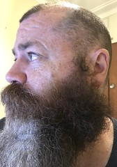 'ears looking at you... (CubOz) Tags: selfie beard ear