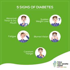 5 Signs of Diabetes (prashant.ahauja19) Tags: heartdisease ischemicheartdisease heartattacktreatment rheumaticheartdisease healthcheckuppackagesindelhincr