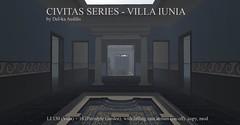 Civitas Series - Villa Iunia (Del-ka Aedilis) Tags: villa roman rome capua roleplay ancient gorean thrones got atrium peristyle tablinum garden bathroom