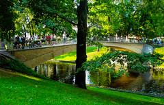 City-Canal-bridge (Mel Gray) Tags: riga latvia travel canal bridge citycanalbridge citycanal gardens water