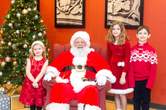 Breakfest w Santa 2019-133(1) (John Carroll Univ.) Tags: alumni fun specialevents christmas santa beard christmastree face human ornament person plant tree