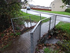 Celyn Brook, Nant Celyn Close, West Pontnewydd, Cwmbran 10 December 2019 (Cold War Warrior) Tags: bridge footbridge celyn brook llif cwmbran