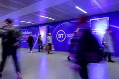 BT Kings Cross (JCDecaux Creative Solutions) Tags: train station rail multiple domination bt beyond limits vinyl kingscross stpancras stpancrasstation jcdecauxcreativesolutions takeover