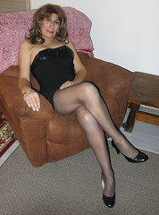 LBD # 2 (ericaklein8) Tags: legs shoes heels pantyhose stockings nylons miniskirt dress tgirl trans tranny transgender tv td ts hot sexy cute flirt attractive seductive sensual glamour feminine elegant exquisite