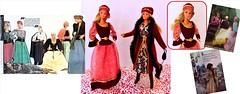 SO YSL! (ModBarbieLover) Tags: ysl fashion barbie highfashion mattel superstar 1976 1979 designer originals pink red ballgown velvet fur suede hautecouture history doll vintage toy coat boots glamour 1970s