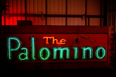 Remember That Night at the Palomino? (Thomas Hawk) Tags: california losangeles museum northhollywood palomino palominoclub sanfernandovalley thepalomino usa unitedstates unitedstatesofamerica valleyrelic valleyrelicmuseum valleyrelics valleyrelicsmuseum vannuys bar neon neonsign fav10 fav25 fav50