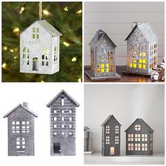 Galvanized Village Houses (Heath & the B.L.T. boys) Tags: galvanized metal house potterybarn