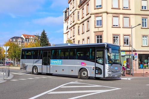 Iveco Crossway Line 13 n°175040 - Keolis 3 Frontières