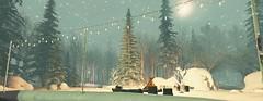 I'm beginning to freeze (Ghoulina Waffle) Tags: sl secondlife virtualworlds thebay winter landscapes skating campfire horsebackriding snow destination simdesign photoop