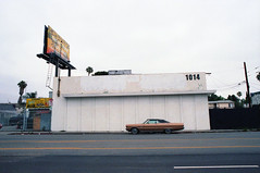 Classic (Past Our Means) Tags: kodak kodakfilm kodakportra portra400 400 travel los angeles ca california car vintage classic street hollywood adventures canon ae1 canonae1 28mm 35mm billboard building white film filmisnotdead filmphotography filmsnotdead istillshootfilm analog analogue iconla
