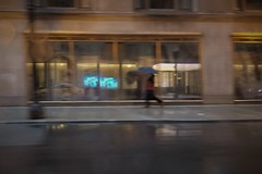 Too Cold To Rain Today (michael.veltman) Tags: from a cab in the rain chicago illinois