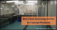 Best Clear Screening Service By Concept Products (conceptproduct) Tags: clear screening insulated sectional doors door installation perth industrial repair doorway solutions