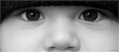 (andreachiesa75) Tags: eyes black white look gaze olympus 17 beauty beautiful