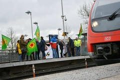 Mahnwachen gegen Urantransport am 9.12.2019